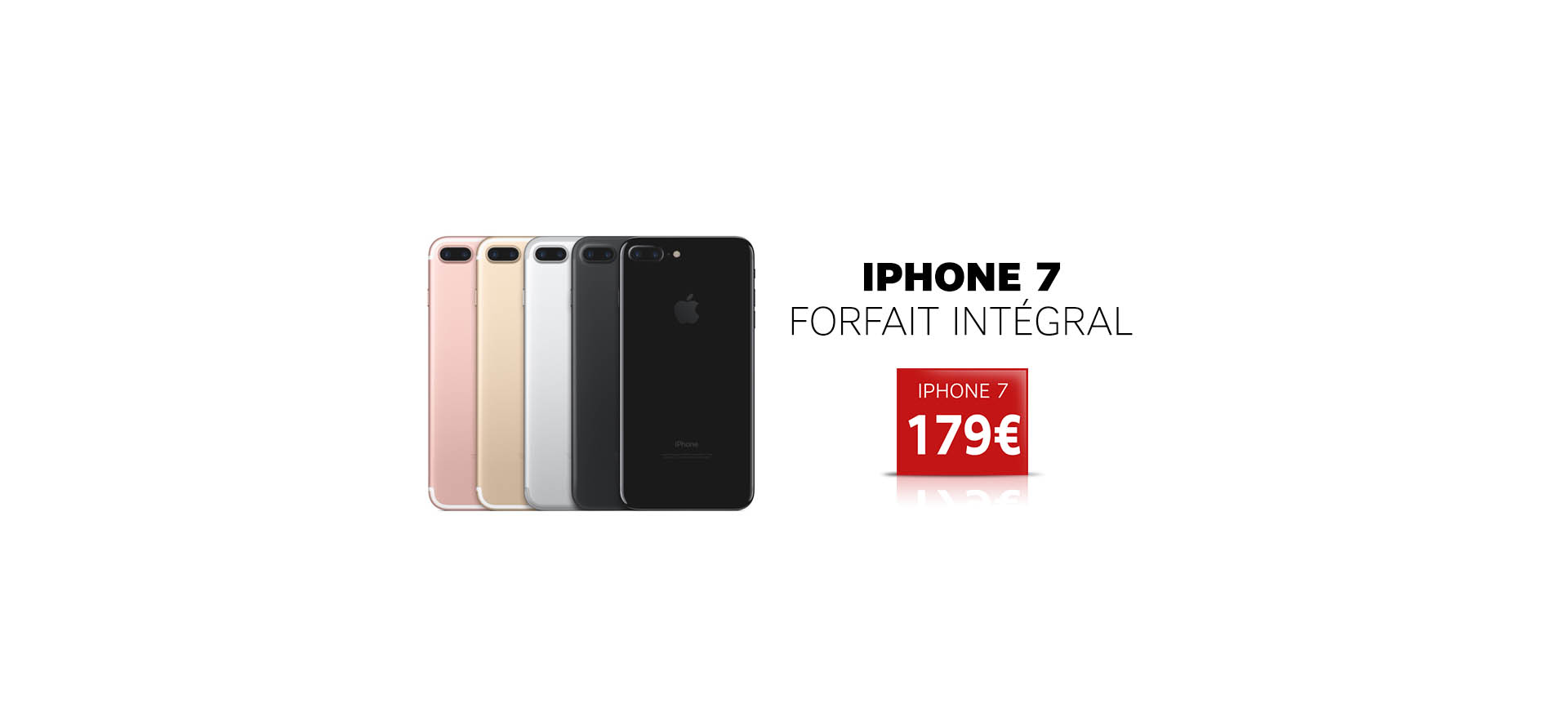 iPhone 7 - Axydis Distributeur SFR Business