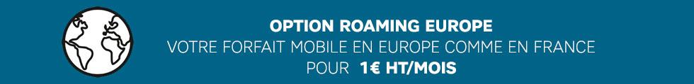 Roaming Europe - Axydis Distributeur SFR Business