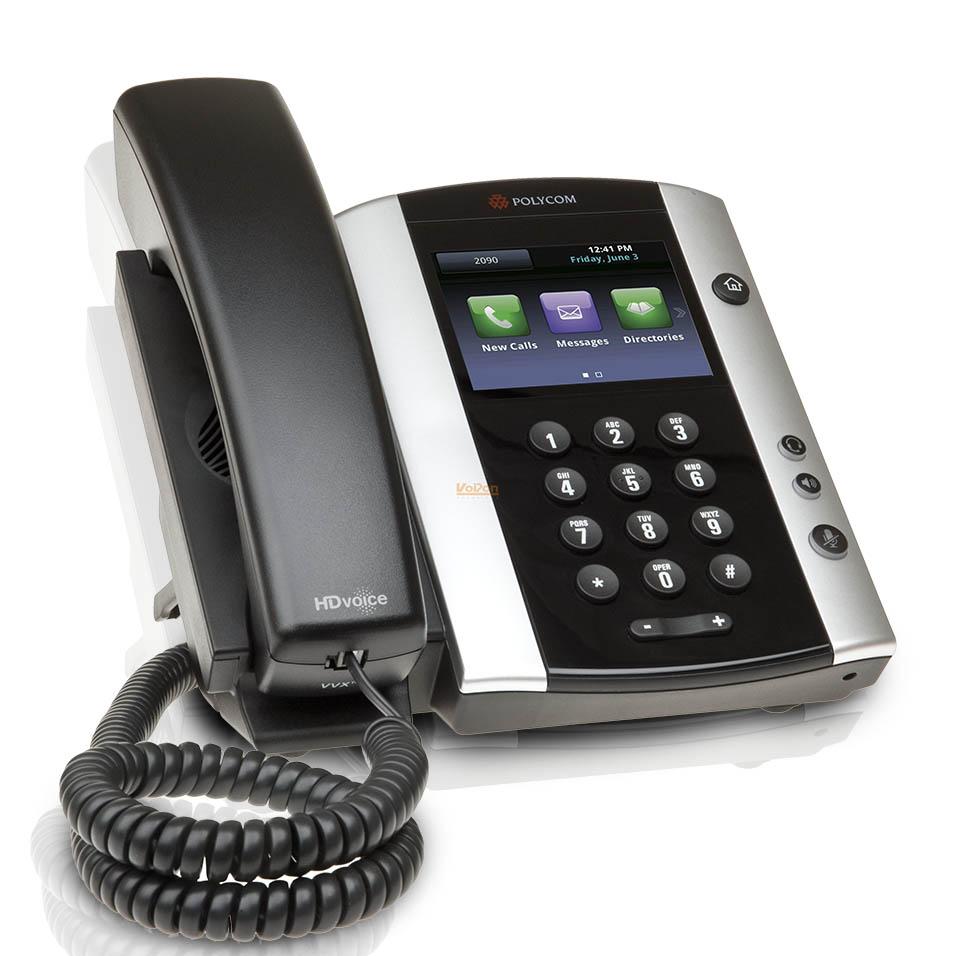Téléphone fixe polycom - Axydis Distributeur SFR Business